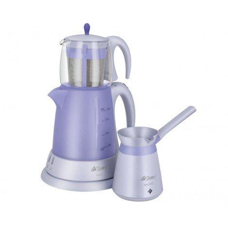 سرویس چای ساز و قهوه ساز آرزوم مدل AR344 چای ساز