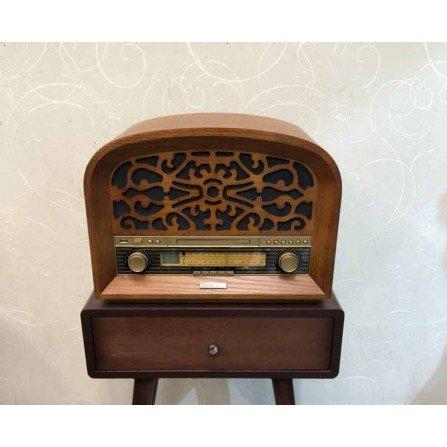 رادیو 4 کاره آنتیک مدل 1303