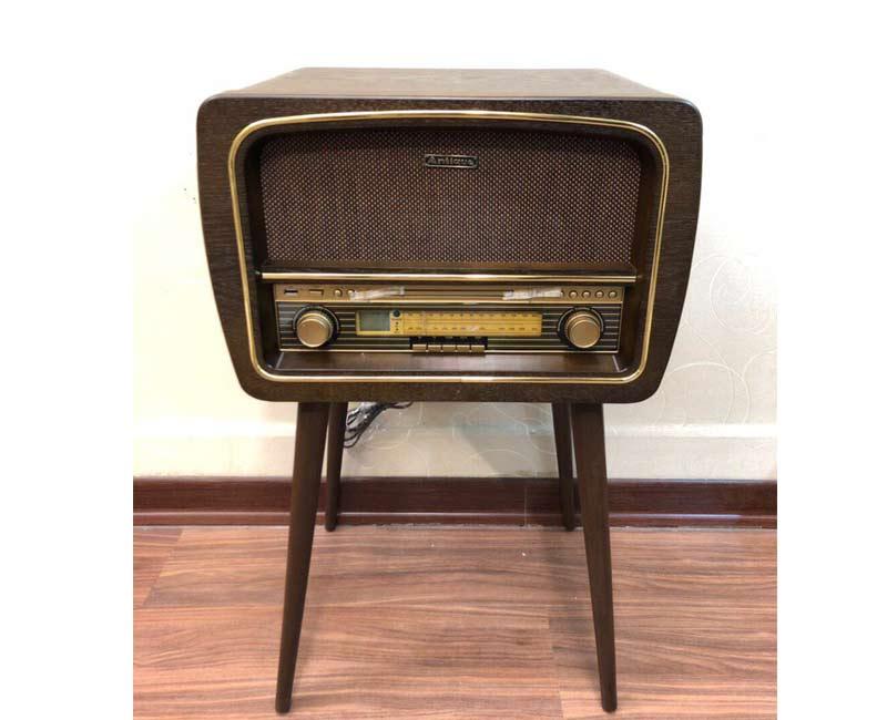 رادیو 5 کاره آنتیک مدل 1428