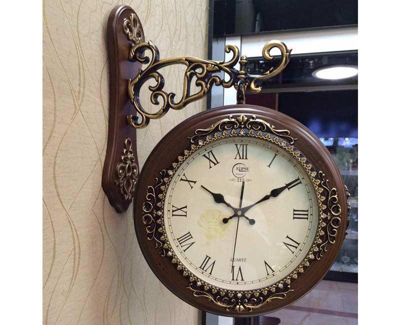 ساعت دیواری دوطرفه الیپس مدل 315