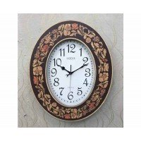 ساعت دیواری چوبی معرق لوت..