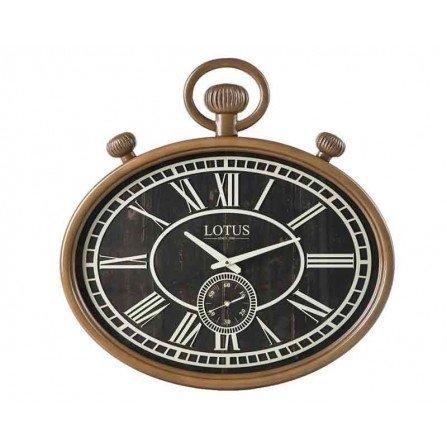 ساعت دیواری چوبی  لوتوس مدل BR-481