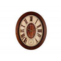 ساعت دیواری بیضی لوتوس مدل W-9827..