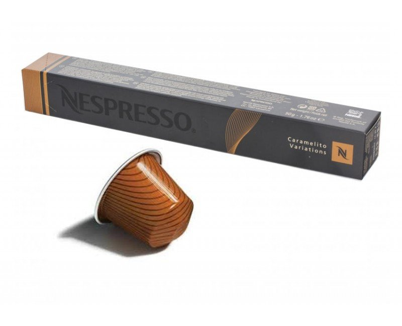 Nespresso Caramelito  Coffee Capsule Coffee and Espresso maker
