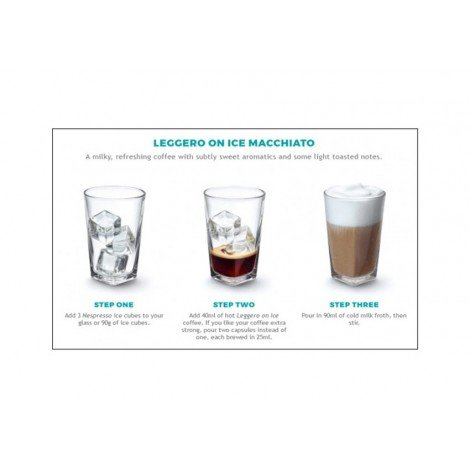 Nespresso Leggero On Ice  Capsule Coffee Coffee and Espresso maker