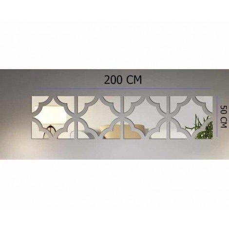 آینه دکوراتیو رومادون سایز 50 کد 478