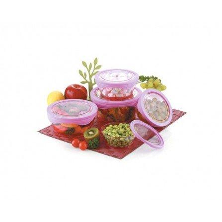 سرویس 10 پارچه ظروف نگهدارنده سان رایز مدل کینگ