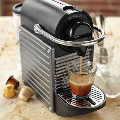Nespresso Pixie Krups Espresso Maker Drink and cocktail maker