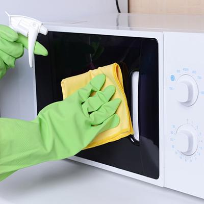 روش های تمیز کردن مایکروفر