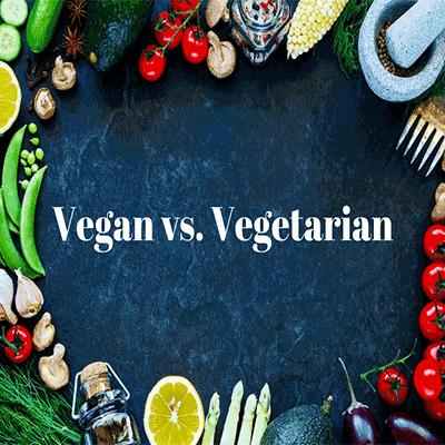 the difference between Vegetarian vs.Vegan