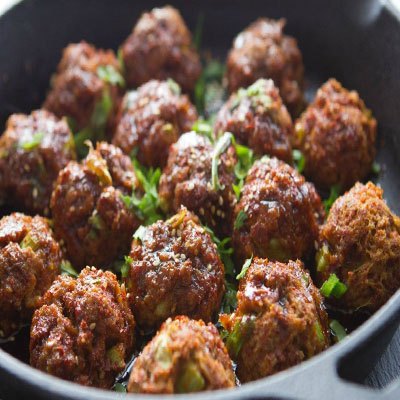 how to make Chinese meatballs