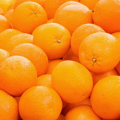 یک نارنجی خوشمزه